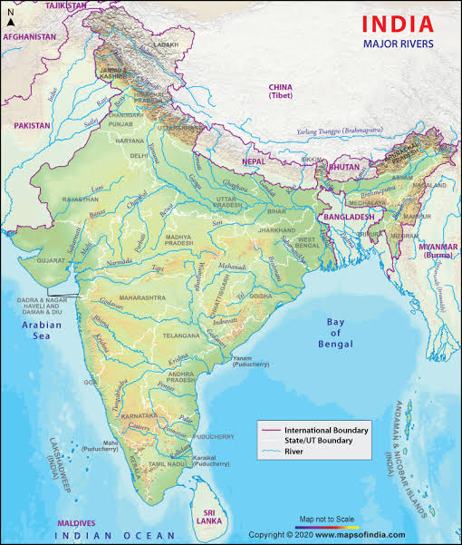 India is a riverine country